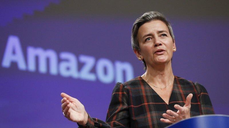 Commerce en ligne: Bruxelles accuse Amazon d'avoir enfreint les règles européennes de concurrence