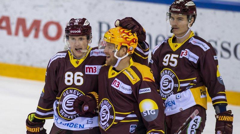 Hockey sur glace: Genève en patron face à Zoug, Fribourg coule à Rappi, Bienne s'impose contre Davos
