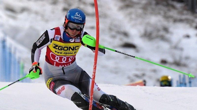Ski alpin: Petra Vlhova remporte le slalom de Levi devant Mikaela Shiffrin, Holdener et Gisin au pied du podium