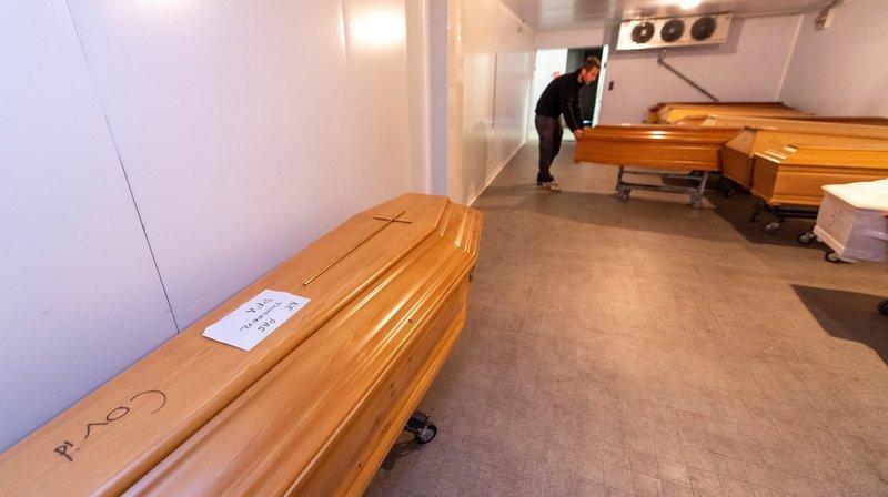 Covid-19: les services funéraires sont sous pression, mais ils résistent