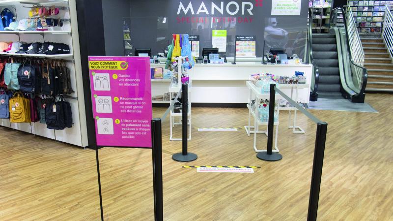 Commerce de détail: Manor doit se réinventer pour faire face à la crise