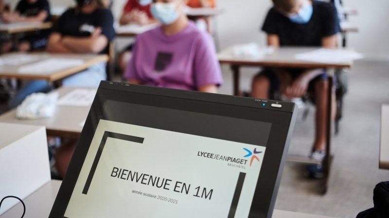 Coronavirus: l'idée de la classe à distance renaît pour les élèves de plus de 15 ans