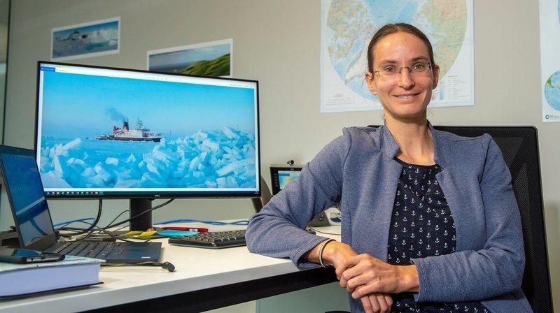 Julia Schmale, la chercheuse sédunoise qui a vécu quatre mois en Arctique pour étudier le changement climatique