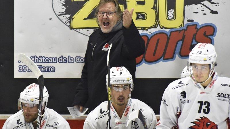 Avec son nouvel entraîneur Bruno Aegerter, le HC Viège change de style