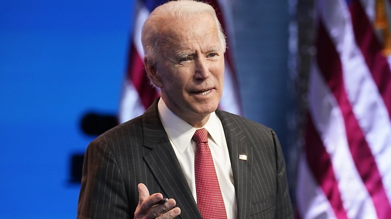 Le président américain élu Joe Biden se dit convaincu qu'il prêtera serment le 20 janvier.