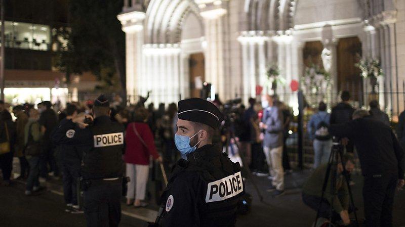 Après l'attaque au couteau à Nice: deux nouvelles interpellations, six personnes en garde à vue