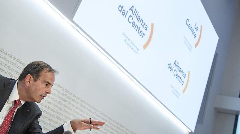 Le PDC va devenir Le Centre, le président du parti Gerhard Pfister l'a annoncé (archives).