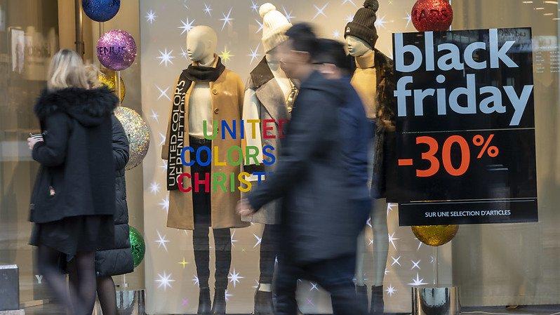 Achats: un Suisse sur 4 compte profiter du Black Friday malgré la pandémie