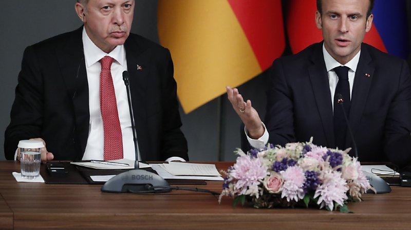 Diplomatie: le président turc Erdogan appelle au boycott des produits français