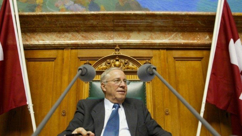 Christoph Blocher n'a droit qu'à un versement rétroactif limité de sa rente d'ancien conseiller fédéral (ARCHIVES).