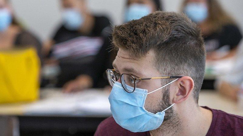 Une extension de l'obligation de porter un masque a été saluée par les sondés (image symbolique).