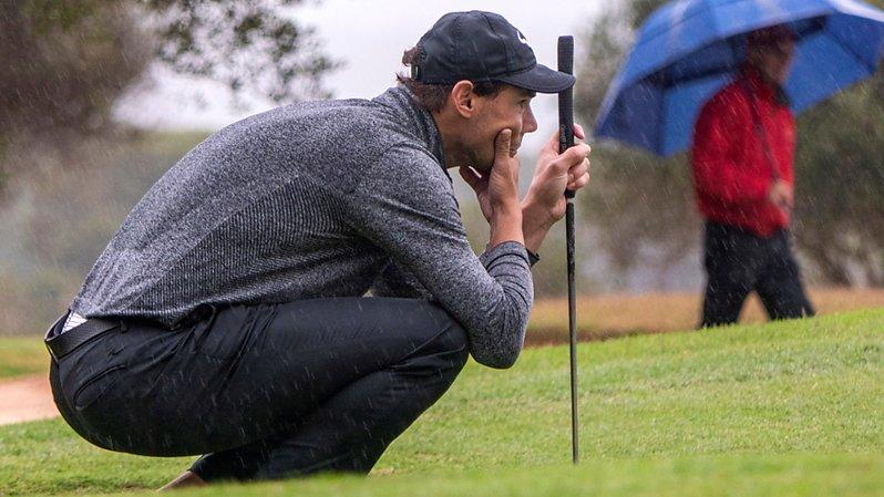 Nadal à l'aise au golf, termine 6e du championnat des Baléares
