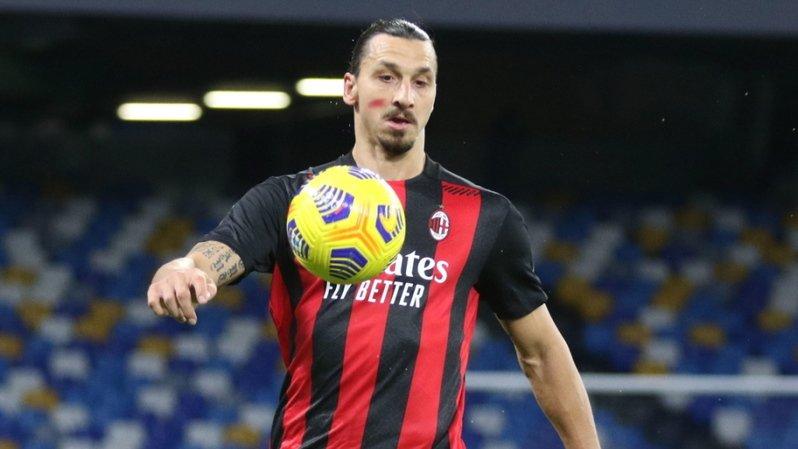 Football – Milan AC: Zlatan sur le flanc au moins dix jours