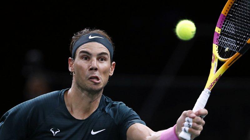 Masters 1000 de Paris: Nadal passe l'obstacle Thompson