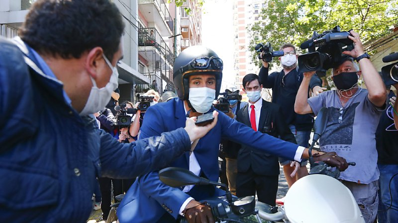 Le Dr Leopoldo Luque a autorisé Maradona à quitter l'hôpital mercredi.
