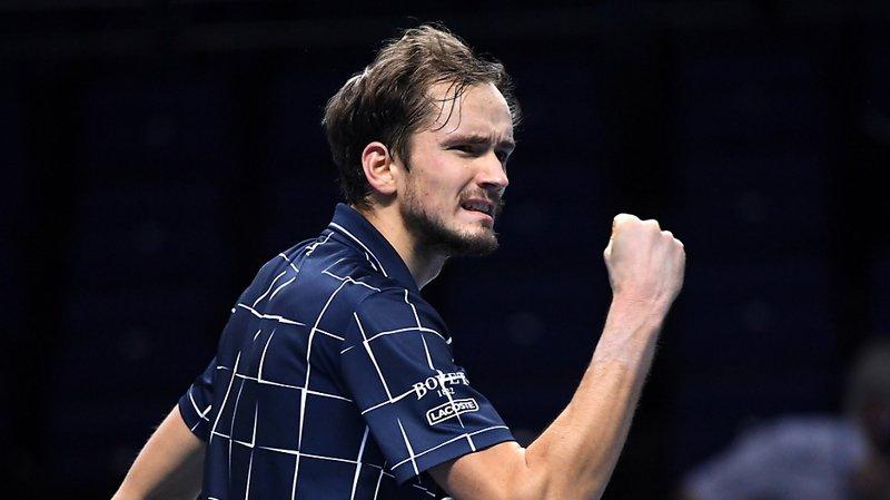 Tennis - Masters de Londres: Medvedev conquiert son premier grand titre