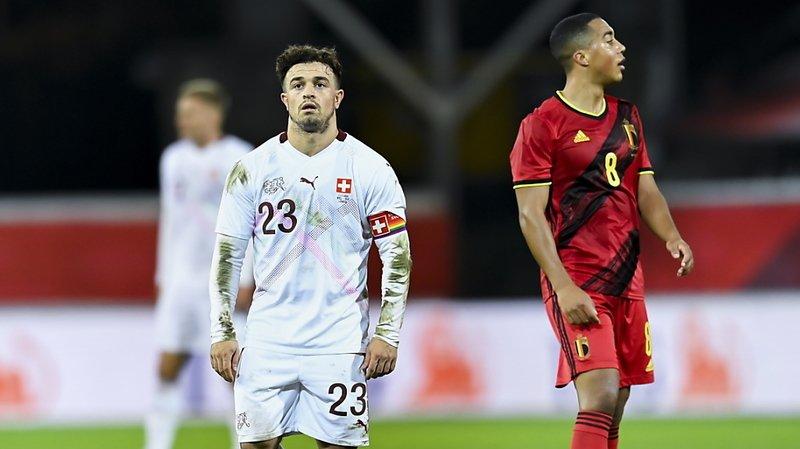 Football: défaite 2-1 en Belgique, la Suisse ne gagne toujours pas