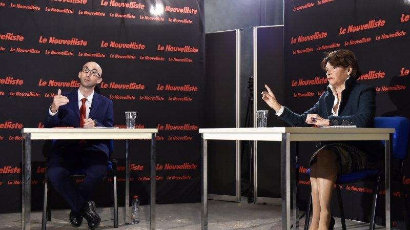 Duel à la présidence de Sembrancher: Marie-Madeleine Luy face à Eric Voutaz