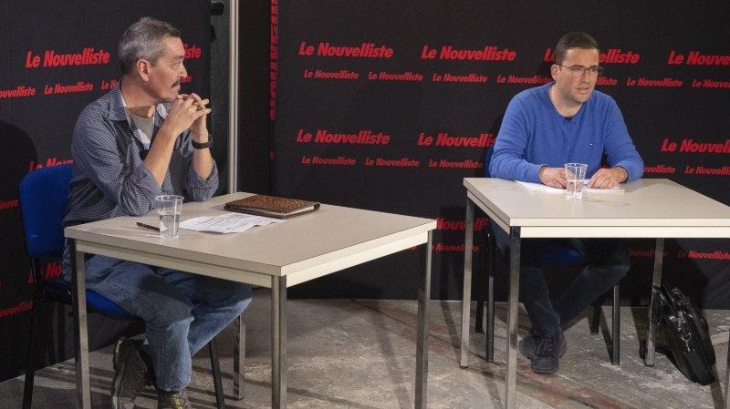 Présidence d'Isérables: notre duel filmé entre Régis Monnet et Raoul Crettenand