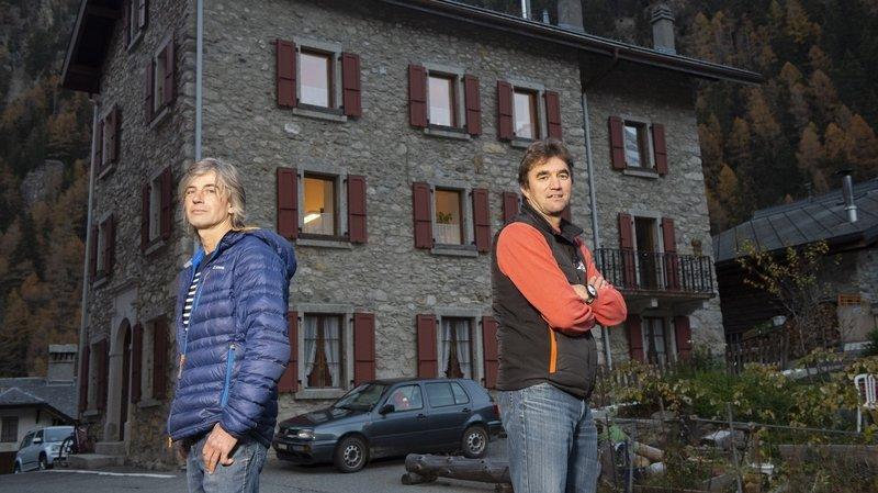 Match à la présidence de Trient: Bertrand Savioz face à Olivier Couach