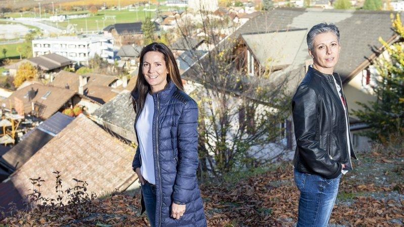 Match pour la présidence de Chalais: Sylvie Masserey Anselin face à Martine Perruchoud Hofstädter