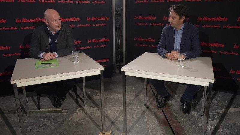 Présidence de Chamoson: notre duel filmé entre Claude Crittin et Christophe Bessero