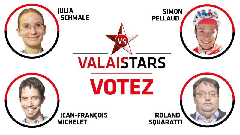 ValaiStars: élisez la personnalité du mois d'octobre