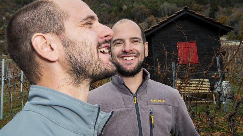 Rencontre avec les «rookies» valaisans 2021 de Gault & Millau, Simon et Régis Bagnoud