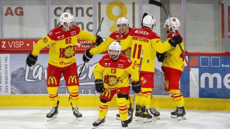 Hockey sur glace: la Swiss League continuera, même à huis clos