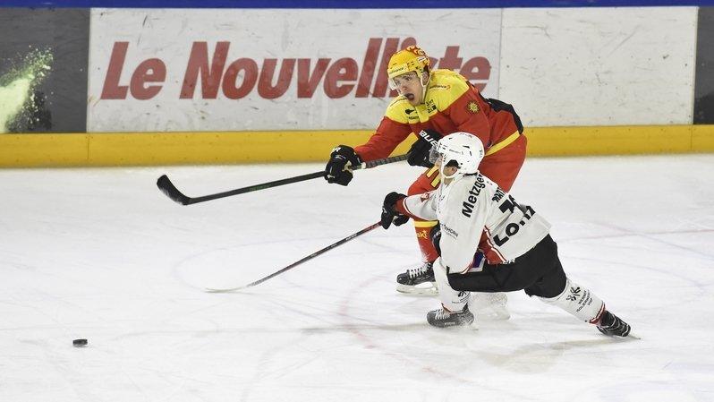 Hockey sur glace: Giovannini verrouille, le HC Sierre déroule face à Viège