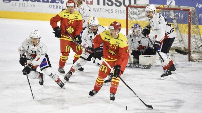 Le HC Sierre s'offre le derby contre Viège, 3-0