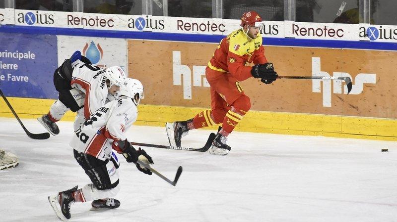 Valentin Pilet, défenseur du HC Viège, après le derby contre Sierre: «On vit une période compliquée»