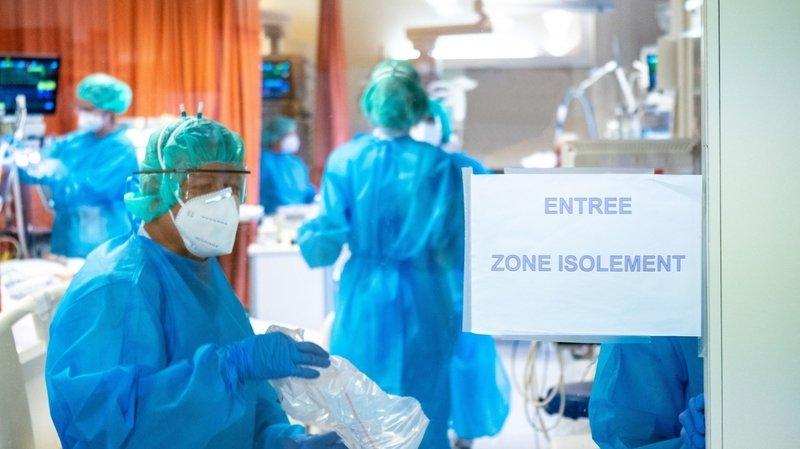 Le personnel des cliniques privées vient renforcer la capacité de l'Hôpital du Valais.