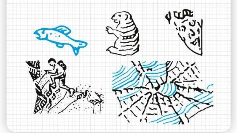 Topographie: les géographes suisses ont caché des dessins dans les cartes nationales