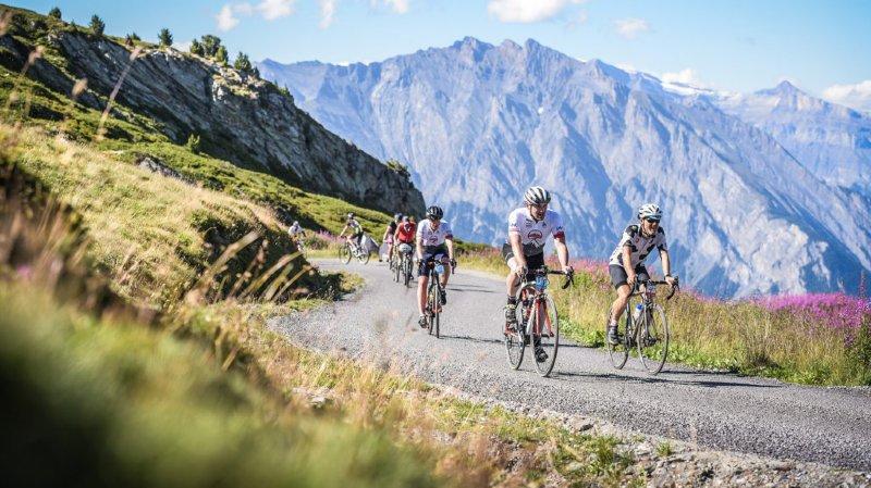 Cyclisme: grimper l'Everest en Valaisdans le cadre du Tour des stations