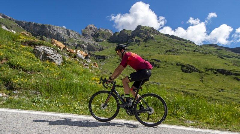 Choisis sur la base d'un tournus, des cols du canton pourraient être réservés une semaine aux cyclistes.