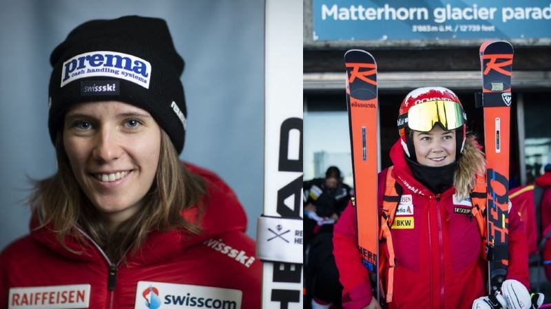 Camille Rast et Mélanie Meillard disputeront les slaloms de Coupe du monde de ski alpin à Levi