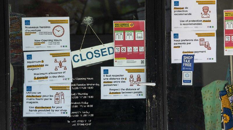 Le projet de loi Covid-19 sur les loyers commerciaux veut aider les commerçants dont l'établissement a été fermé à cause des mesures de lutte contre le coronavirus (image d'illustration).
