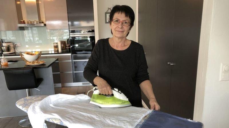 Coronavirus: elle fait le repassage gratuitement pour le personnel soignant