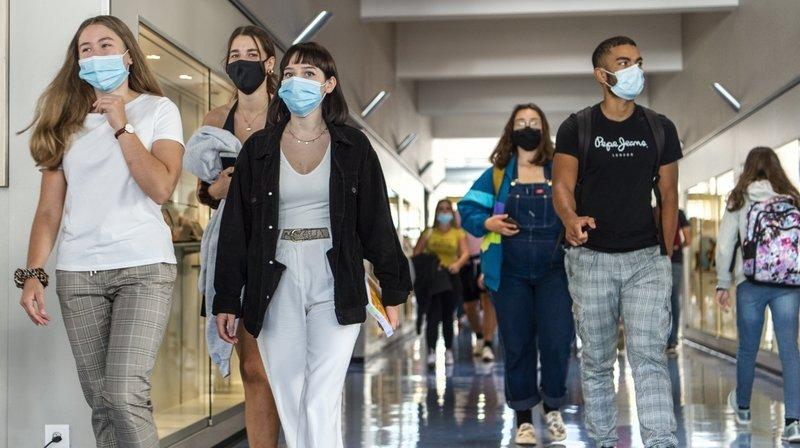 Coronavirus et école: le nombre de cas positifs augmente, mais reste faible en regard de l'effectif total