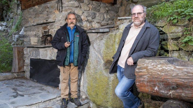 Philippe Carthoblaz et Yvan Fournier vous emmènent en tandem à la découverte d'un joli coin de Nendaz.