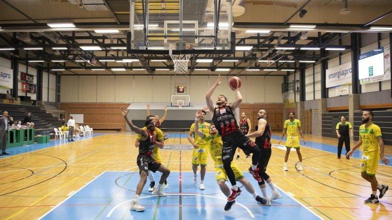 Coronavirus: même à huis clos, l'élite du basket valaisan continuera à jouer
