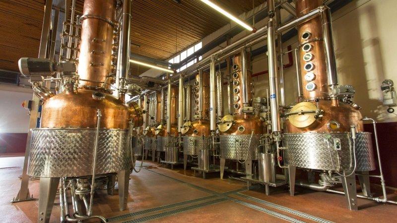 Sept spécialités médaillées au Swiss Spirits Awards sont sorties des alambics de la distillerie Morand à Martigny.