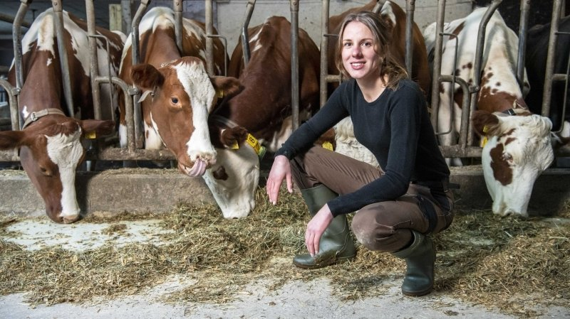 St-Maurice: Stéphanie Mottiez frôle la note idéale au brevet d'agricultrice
