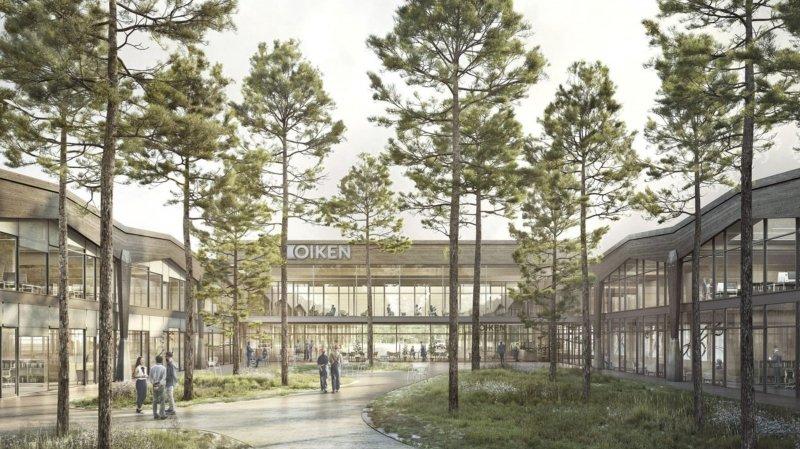 Un bureau d'architecture genevois remporte le concours pour le centre Oiken de Sierre