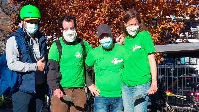 Martigny: les Verts plantent des arbres… et la Ville?