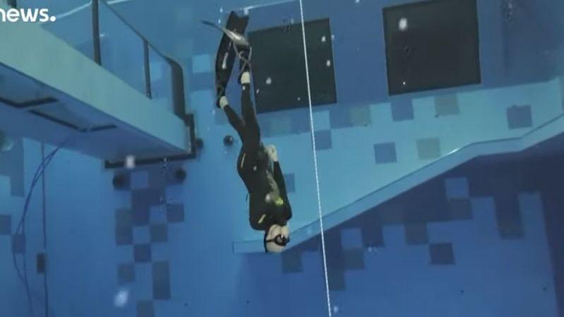 La piscine la plus profonde du monde s'est ouverte en Pologne: vertigineux!
