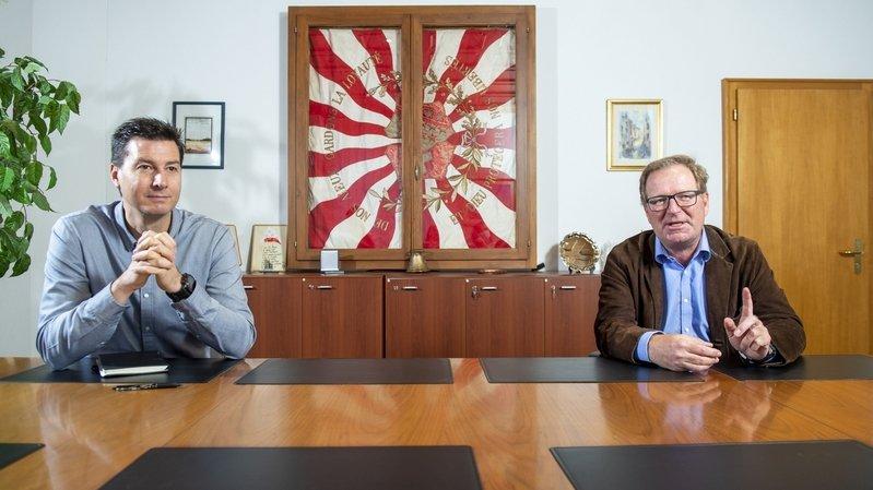 Match à la présidence de Champéry: Jean-Philippe Borgeaud face à Jacques Berra