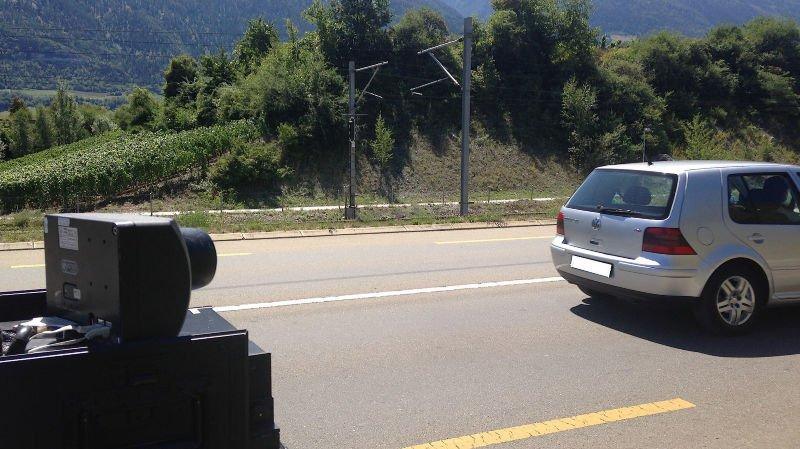 Un chauffard flashé à 108km/h à Pont-de-la-Morge