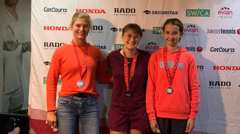 Tennis: les filles du TC Martigny vice-championnes de Suisse